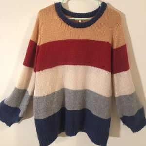 Promesa Striped Sweater